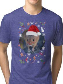 Happy Christmouse Tri-blend T-Shirt
