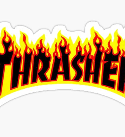 Thrasher Flame Sticker Sticker