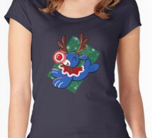 Water Reindeer Women's Fitted Scoop T-Shirt