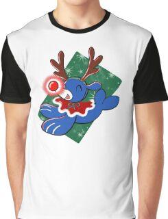 Water Reindeer Graphic T-Shirt