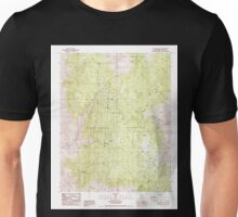 USGS TOPO Map California CA Westgard Pass 295734 1987 24000 geo Unisex T-Shirt