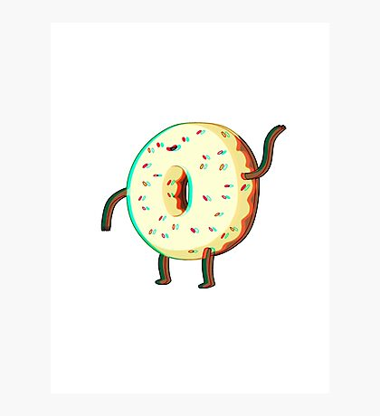 Donut Guy Photographic Print