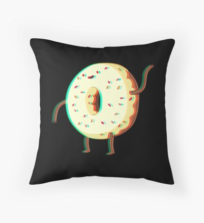 Donut Guy Throw Pillow