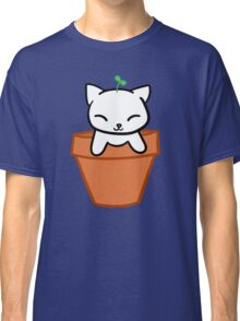 Potted Cat Classic T-Shirt