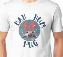 Bah Hum Pug Unisex T-Shirt