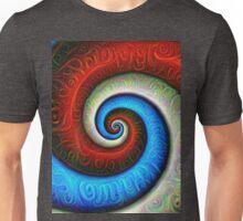 #DeepDream Color Fibonacci Visual Areas Unisex T-Shirt