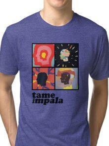 TAME IMPALA - HEADS Tri-blend T-Shirt