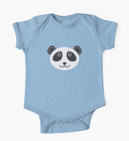 Cute panda face One Piece - Short Sleeve