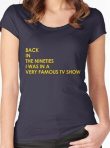 Back In The 90s Women's Fitted Scoop T-Shirt