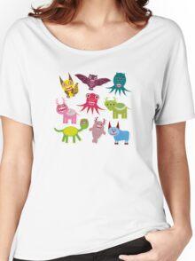 Cartoon monsters Women's Relaxed Fit T-Shirt