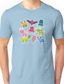 Cartoon monsters Unisex T-Shirt