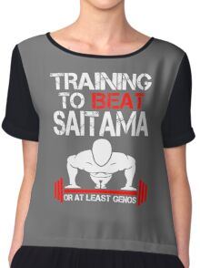 Training to Beat Saitama Chiffon Top
