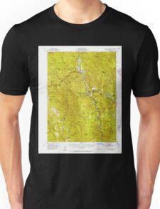 USGS TOPO Map California CA Willow Creek 302001 1952 62500 geo Unisex T-Shirt