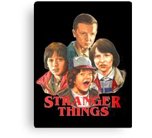 stranger things - tv series Canvas Print