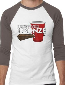 I Survived the Bronze Men's Baseball ¾ T-Shirt