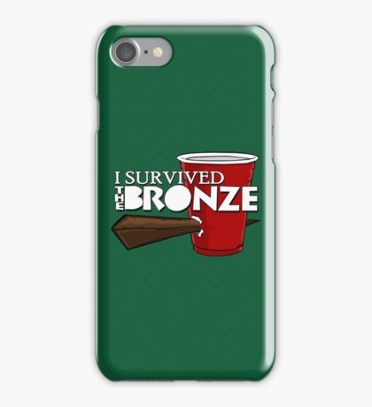 I Survived the Bronze iPhone Case/Skin