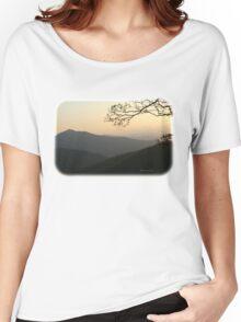 Smoky Mountain Misty Sundown Women's Relaxed Fit T-Shirt