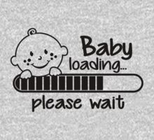 Baby loading... please wait by Cheesybee