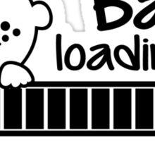 Baby loading... please wait Sticker