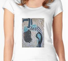 'Piquing the Senses'~2011 by Denise Vieira Women's Fitted Scoop T-Shirt