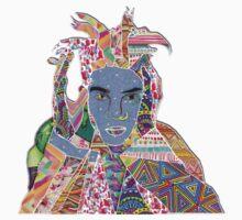 Basquiat homage Baby Tee