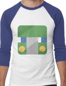 Charjabug Men's Baseball ¾ T-Shirt