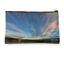 Eruption at Sunset Studio Pouch