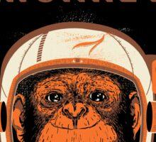 Enos. Despicable Space Monkey Sticker