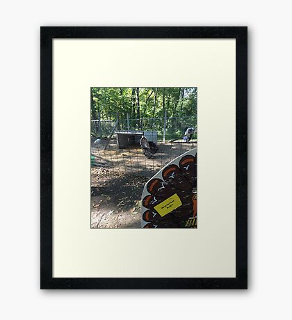vegetarians rule Framed Print