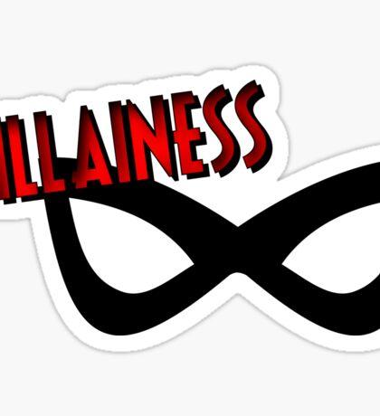 Villainess #1 Sticker