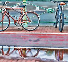 Urban reflections by Beverley Goodwin