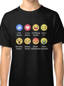 I LOVE SOCCER EMOTION T-SHIRT Classic T-Shirt