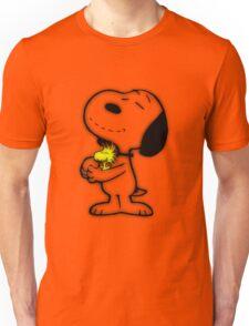 Snoopy feliz Unisex T-Shirt