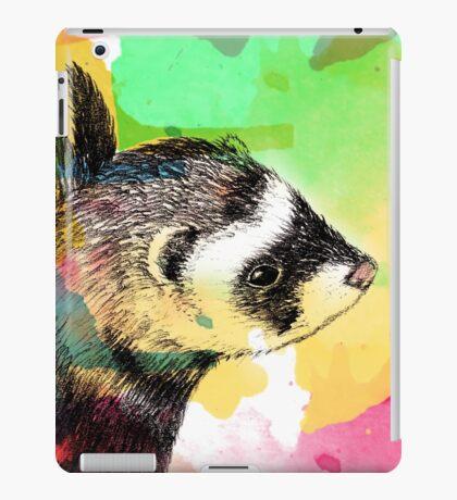 Ferret dreams iPad Case/Skin
