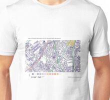 Multiple Deprivation Stockwell ward, Wandsworth Unisex T-Shirt