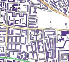 Multiple Deprivation Stepney Green ward, Tower Hamlets Sticker
