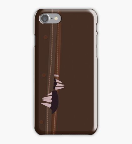 Niffler getting out the trunk iPhone Case/Skin