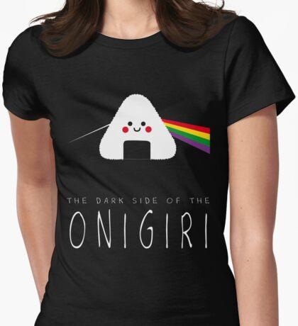 The dark side of the onigiri Womens Fitted T-Shirt