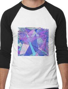 Frenzy of Triangles Men's Baseball ¾ T-Shirt