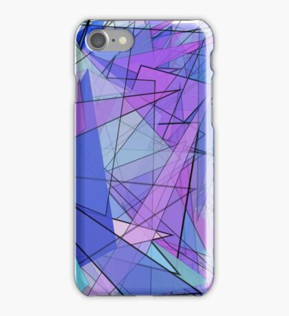 Frenzy of Triangles iPhone Case/Skin