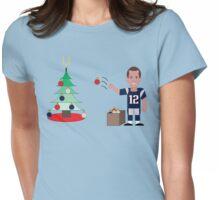 QB Christmas (Brady) Womens Fitted T-Shirt