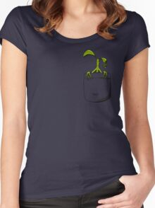 In Pocket Women's Fitted Scoop T-Shirt