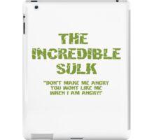 The Incredible Sulk iPad Case/Skin