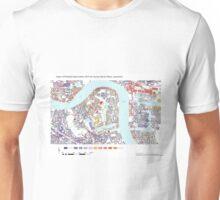 Multiple Deprivation Surrey Docks ward, Lewisham Unisex T-Shirt