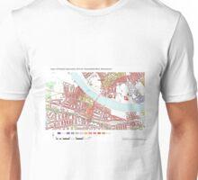 Multiple Deprivation Thamesfield ward, Wandsworth Unisex T-Shirt