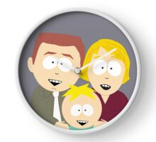 Butters Family Portrait Clock