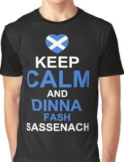 Keep Calm and Dinna Fash Outlander Shirt Graphic T-Shirt