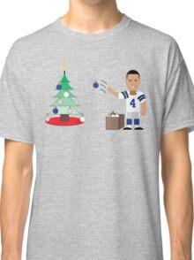 QB Christmas (Dak) Classic T-Shirt
