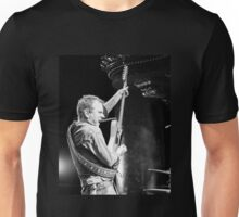 Kiefer Sutherland with Guitar in Action Unisex T-Shirt