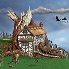 Fantasy Tree House by Paul Fleet